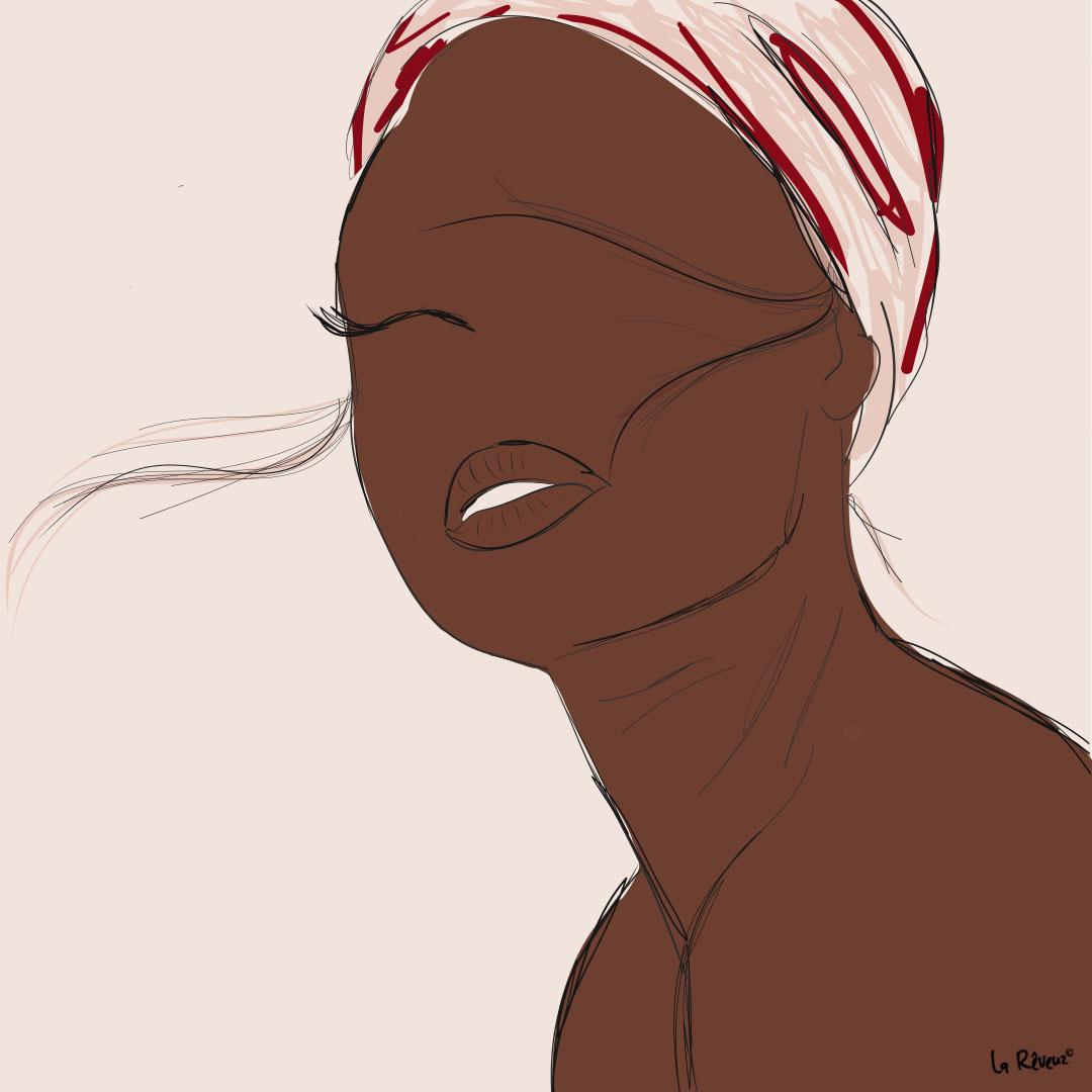 la Reveuz illustration Paris turban indira de paris