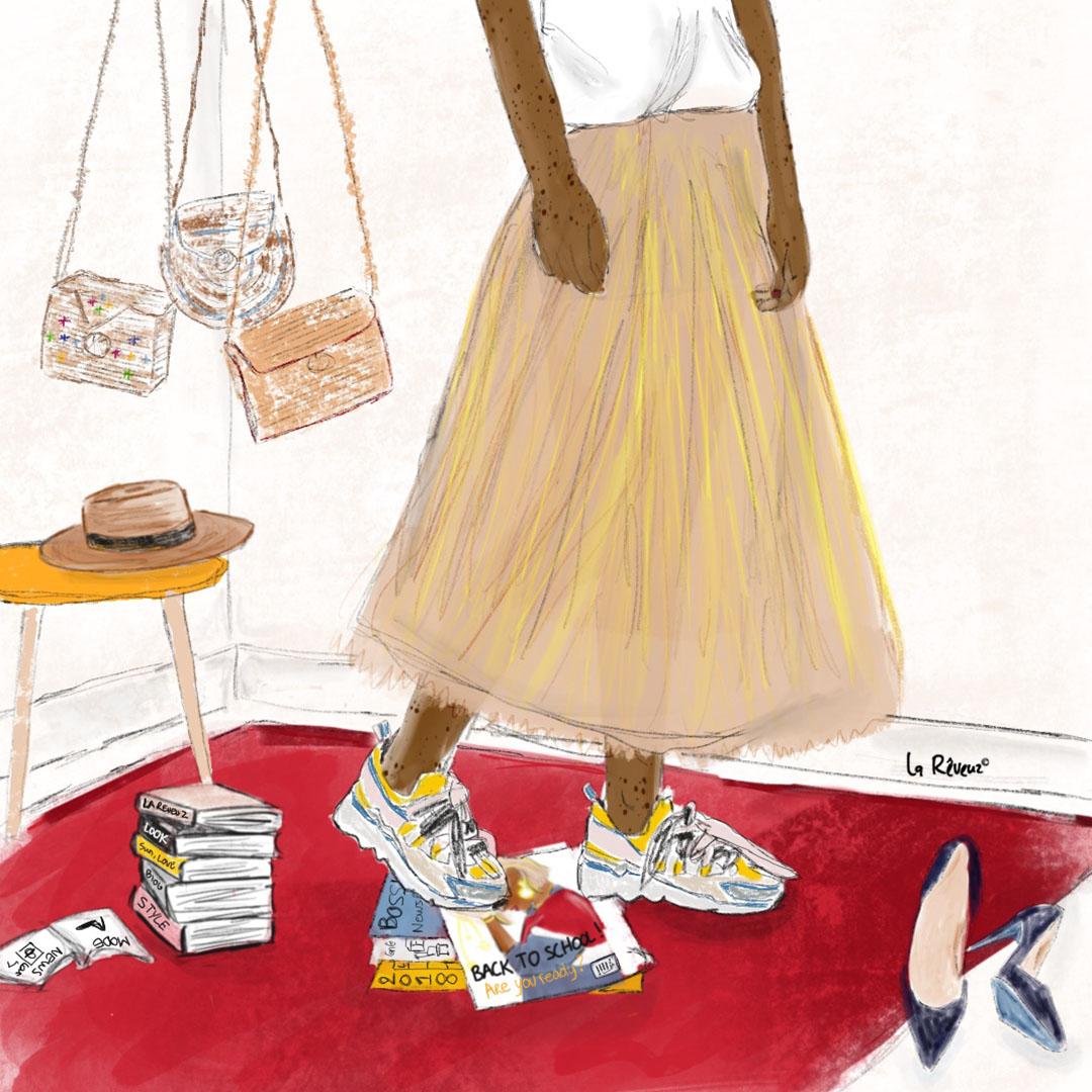 la Reveuz illustration Paris lifestyle fashion magazine