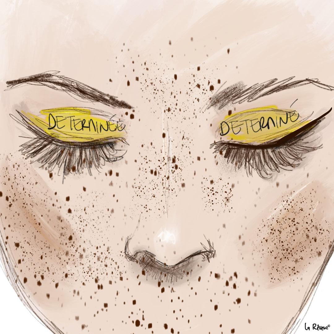 la Reveuz illustration Paris beauty face