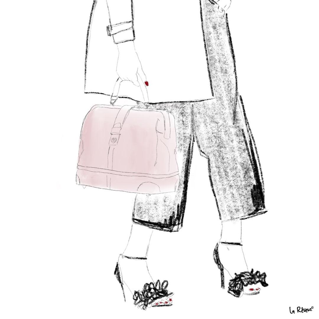 la Reveuz illustration Paris ZOOM SHOES FASHION