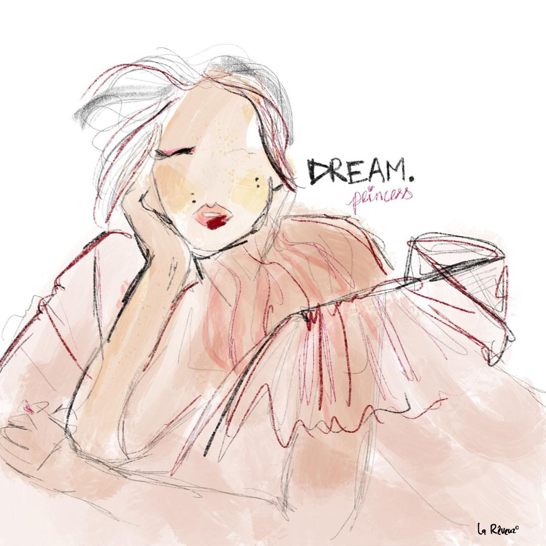 la Reveuz illustration Paris girl blogueuse